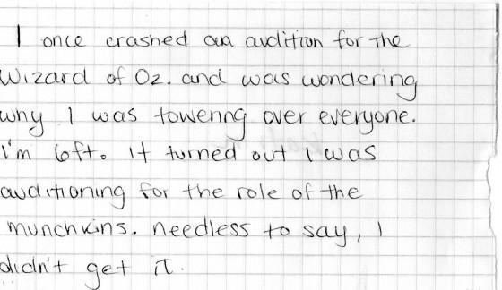 munchkin-audition